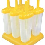 Tovolo Groovy Ice Pop Molds, Yellow - Set of 6