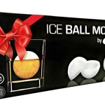 Cuzzina Ice Ball Maker Mold - Set of 2 Large 2.5 Inch Silicone Ice Ball Molds